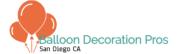 balloon decoration services San Diego